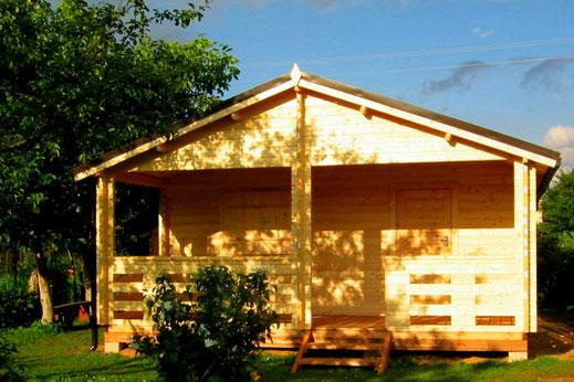 Chalet en kit chalet en kit maison en bois for Chalet bois tarif