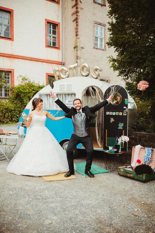 Fotobox, Hochzeit, Photobooth, Fotocamper, Photocamper