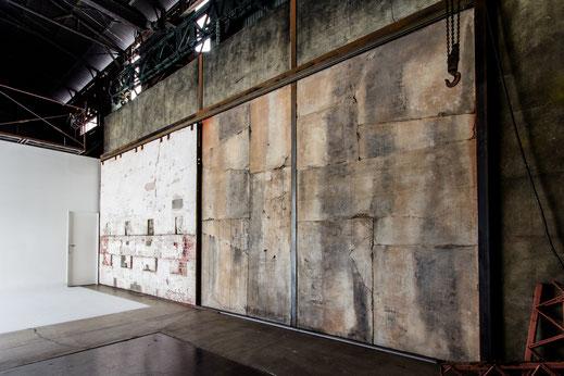 【Studio A】左官造形壁
