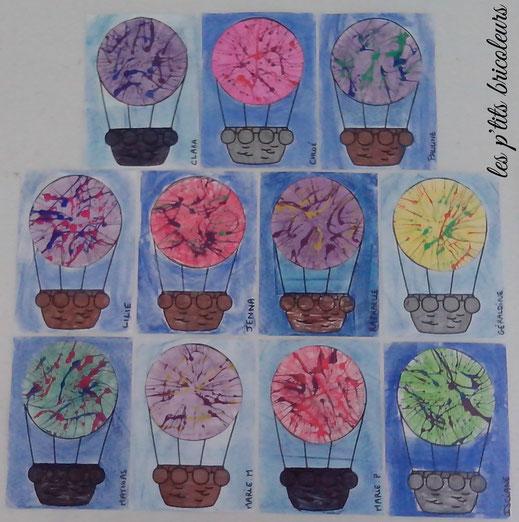 Coloriage A Imprimer Vie Quotidienne.Dans Ma Montgolfiere Lesptitsbricoleurss Jimdo Page