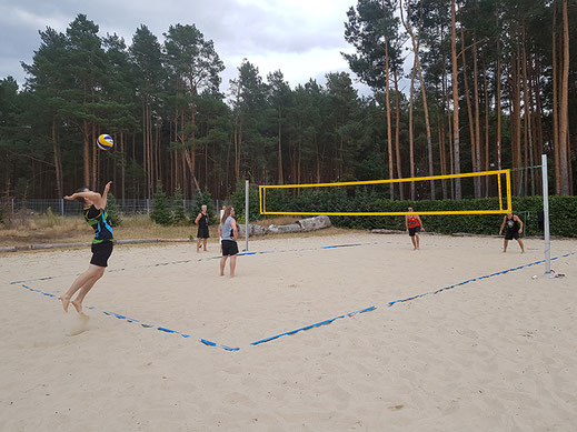 Beachvolleyballturnier in Spreenhagen
