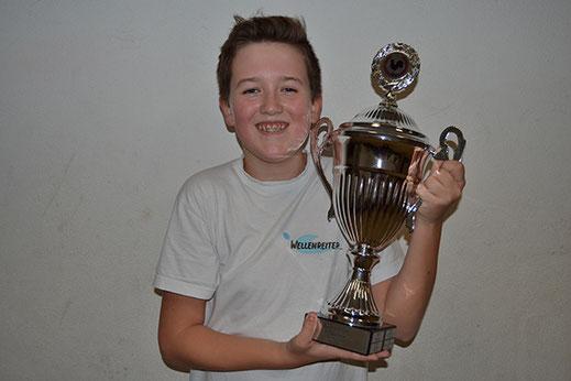 Tim-Luca gewinnt den Zwietracht Cup