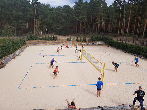 Beachvolleyballplatz in Spreenhagen