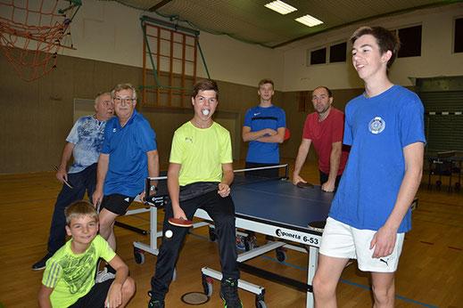 Badminton Mannschaft von Zwietracht Spreenhagen