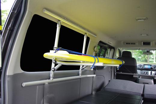 キャラバン NV350 ボードラック サーフィン キャリア