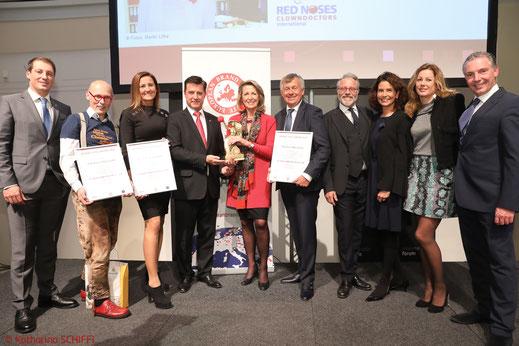 Brand Life Award 2017, BLA 2017, Brand Life Award, Monica Culen, Preisträger, Markenbotschafter, Johannes Gutmann, Michael Wiederer, Erich Falkensteiner, Martha Schultz, Red Noses Clowndoctors
