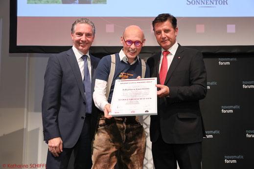 Markenbotschafter 2017, Brand Life Award 2017, BLA 2017, Johannes Gutmann, Sonnentor