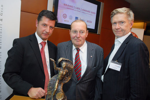 Dr. Gerhard Hrebicek, Klaus Darbo, Peter Pelinka
