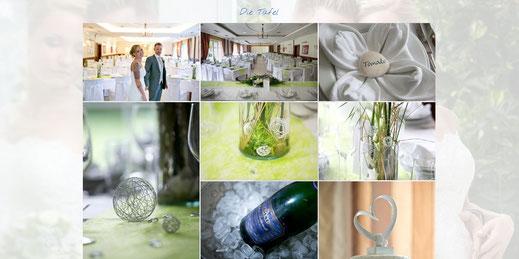 Hochzeitshomepage von website4everyone