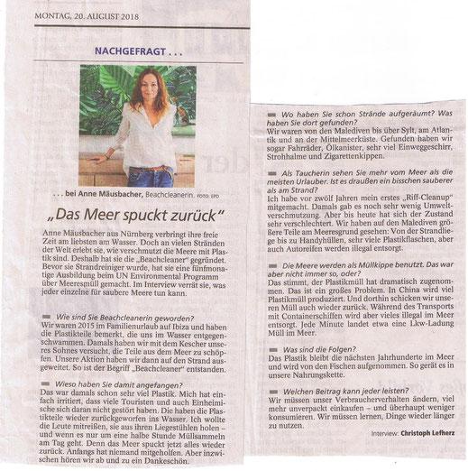 Münchner Merkur 20.08.2018