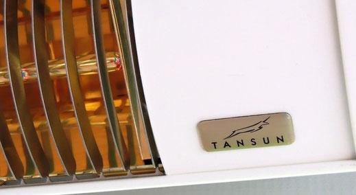 Tansun Infrarotheizung und Terrassenstrahler für Gastronomie