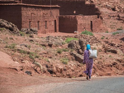 Viaggio in Marocco: villaggi berberi verso Ait Ben Haddou