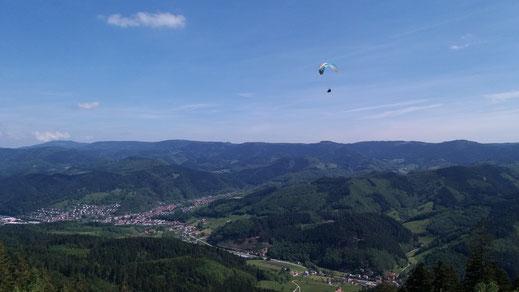 Gleitschirmflugschule Air-Time im Schwarzwald Flugschule Oberkirch Oppenau Gleitschirmschule Gleitschirmreisen