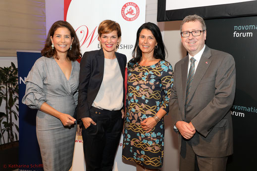 Bundesministerin, Frauen und Gesundheit, BM, Rendi-Wagner, Pamela Rendi-Wagner, Bundesministerin Pamela Rendi-Wagner, Women Leadership Forum 2017, WLF 2017, US Embassy, Charge d'Affaire Eugene Young, Sonja Kato, Unikato, Novomatic Forum, Leadership