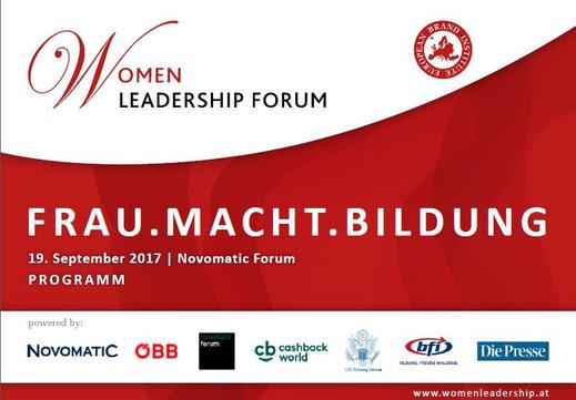 Women Leadership Forum 2016_Frau macht Unternehmen_Programm