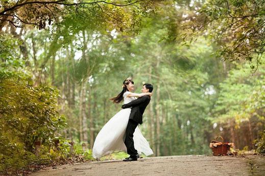 Thème de mariage chic et glamour
