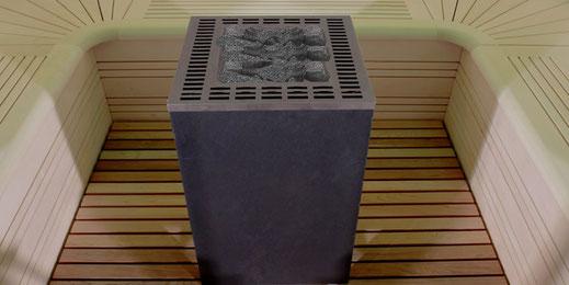 Saunaofen EOS Cubo