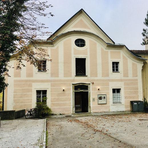 Schloss Lamberg Schlossgalerie Eingang SCHLOSS.Lamberg.ADVENT