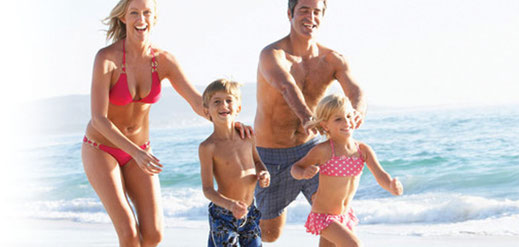 Vacances en bord de plage Corse