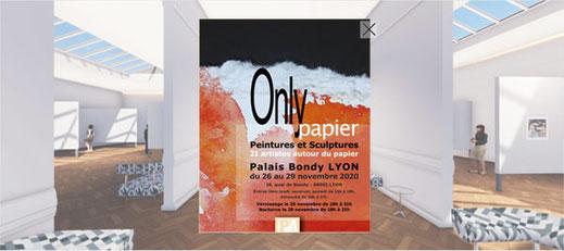 Exposition Papiers 7 à Sainte Foy les Lyon du 16 au 21 Mars 2019
