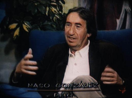 Naso González entrevista TV