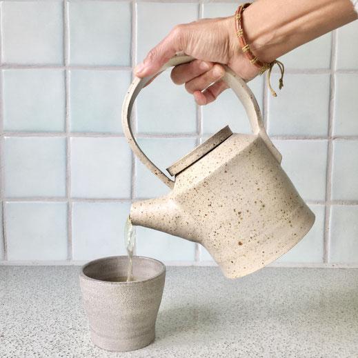 Handmade teapot for a special tea moment