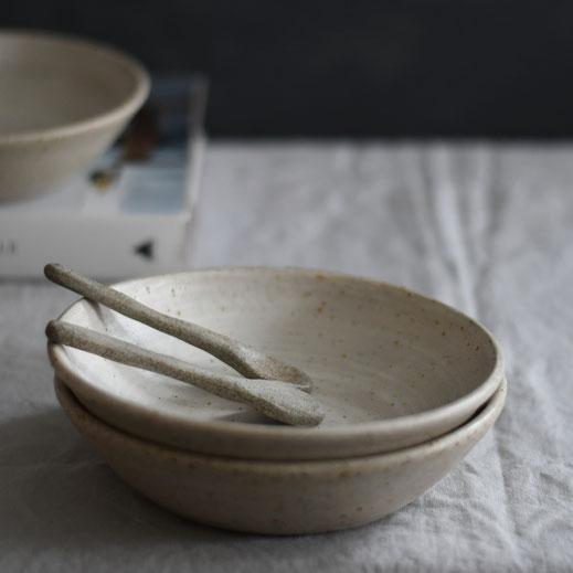 Whitewashed breakfast bowl