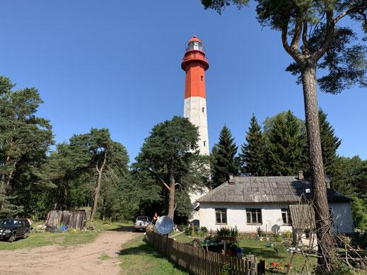 Tallinn, Estland, Naissaar, Zug, train, Leuchtturm