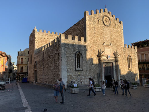 Italien, Sizilien, Sehenswürdigkeit, Taormina, Dom, Duomo de Taormina, Kirche