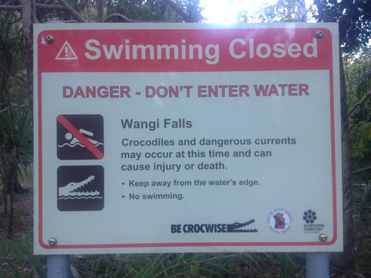 Australien, Northern Territory, Litchfield National Park, Wangi Falls