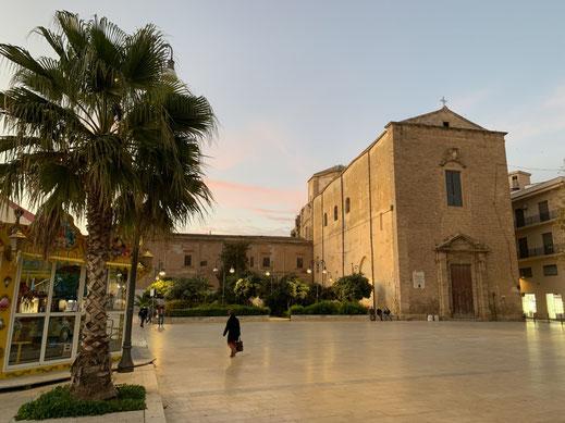 Italien, Sizilien, Sehenswürdigkeit, Sciacca, piazza angelo scandaliato, Altstadt