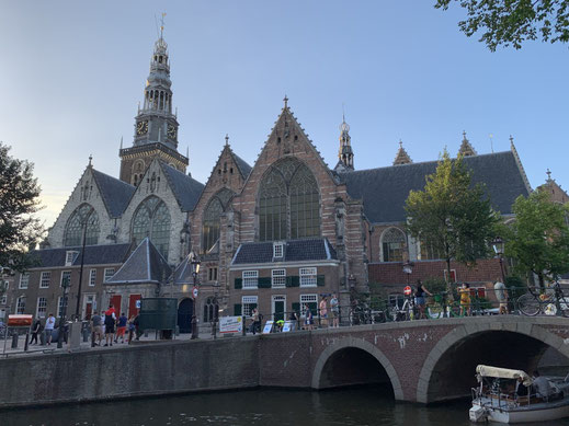 Niederlande, Holland, Amsterdam, Old Church, Kirche