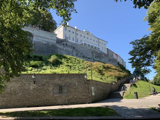 Estland, Tallinn, Reval, Altstadt, Patkuli Treppe, Vabariigi Valitsus