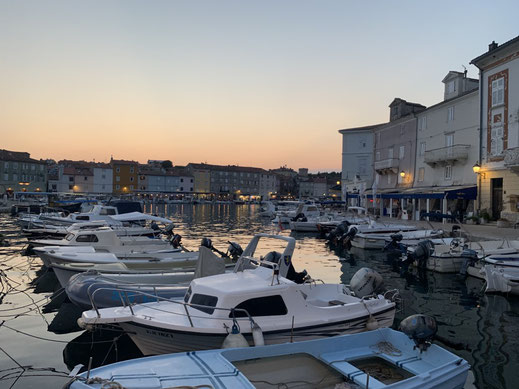 Kroatien, Cres, Fischerhafen