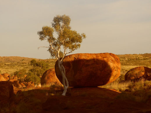 Australien, Northern Territory, Karlu Karlu, Devils Marbles