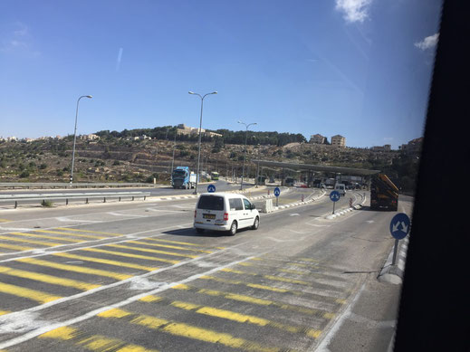 Israel, Check Point, Betlehem