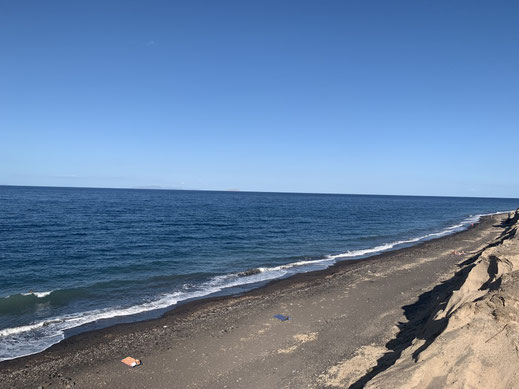 Santorini, Griechenland, Steilküste, Fira, Oia, Baxedes Beach