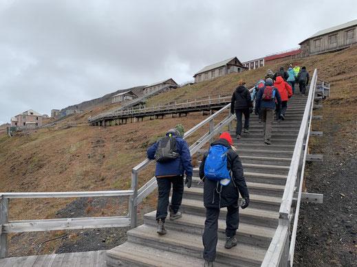 Spitzbergen, Svalbard, Barentsburg,