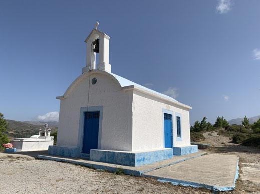 Griechenland, Kreta, Sehenswürdigkeit, Reisebericht, highlight, Urlaub, Anydri, Schlucht, Kapelle