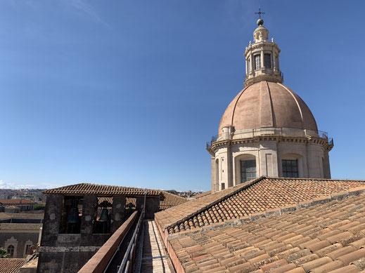Italien, Sizilien, antike Stätte, via Antonino di Sangiuliano, Catania, Sehenswürdigkeit, Chiesa di San Nicolo, Kirche, Basilika