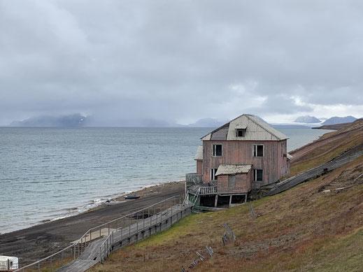 Spitzbergen, Svalbard, Barentsburg,Kohle, Kohleabbau, Kohlebergbau