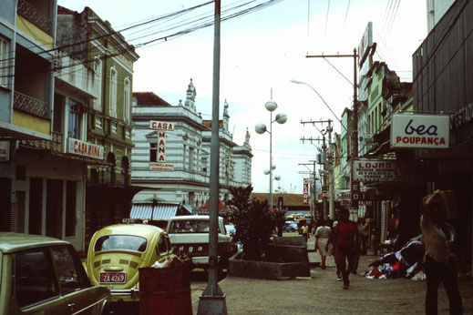 Brasil, Brasilien, Manaus, Fußgängerzone, City, Stadtmitte