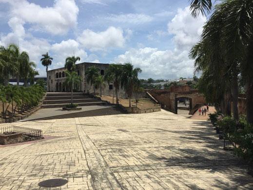 Alcázar de Colón, Dom Rep, Dominikanische Republik, Santo Domingo, Zona Colonial, Altstadt, Zentrum,