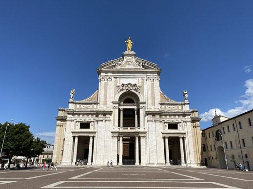 Santa Maria degli Angeli, Franz von Assisi