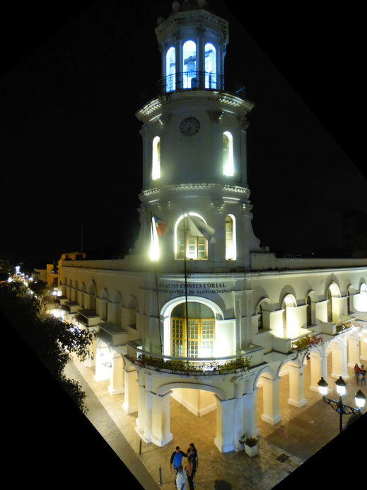 Santo Domingo, Zona Colonial, Palacio Consistorial, Dom Rep, Dominikanische Republik, Santo Domingo, Zona Colonial, Altstadt, Zentrum,