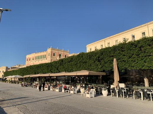Italien, Sizilien, antike Stätte, Sehenswürdigkeit, Syrakus, Promenade, Hafen