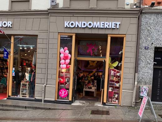 Norwegen, Oslo, Zentrum Kondom