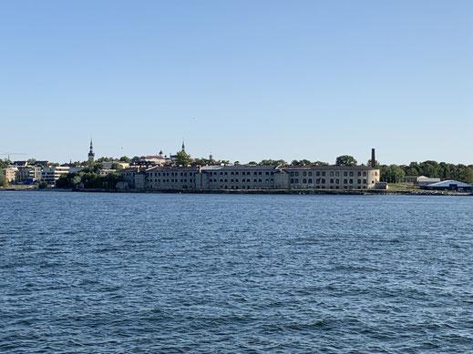 Estland, Tallinn, Reval, Hafen, Gefängnis, Paratei