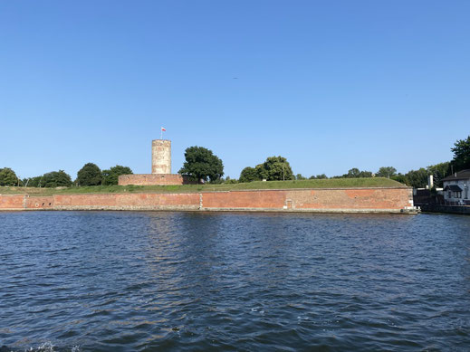Festung Weichselmündung, Danzig