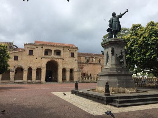 Santo Domingo, Zona Colonial, Catedral Primada de América, Dom Rep, Dominikanische Republik, Santo Domingo, Zona Colonial, Altstadt, Zentrum,